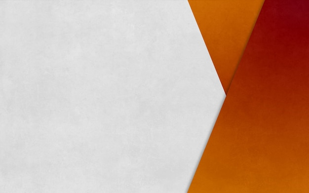 Bright orange triangle boxed paper texture background business banner