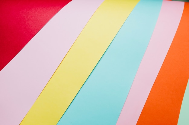 Bright paper sheets