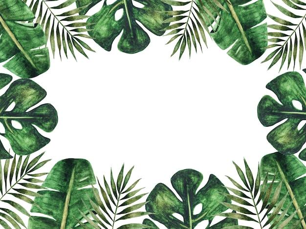 Яркая картина с изображением нарисованных растений.