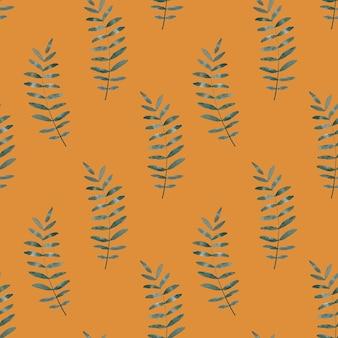 塗られた植物をイメージした明るい絵