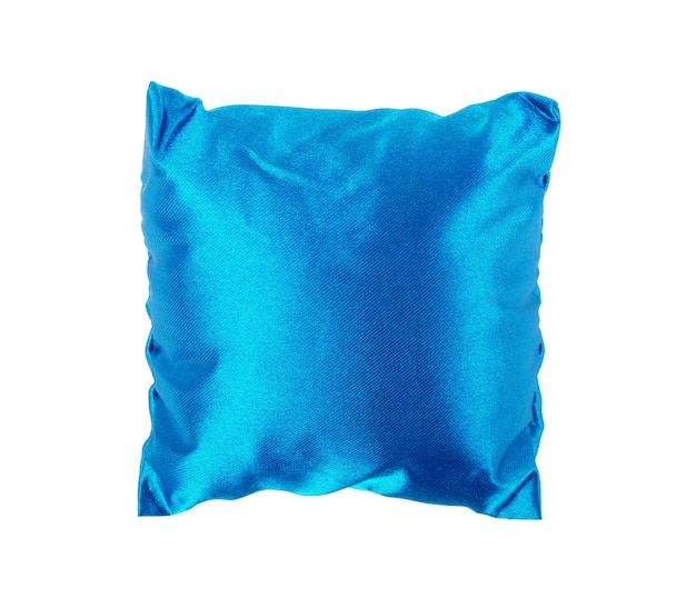 Bright pillow isolated on white