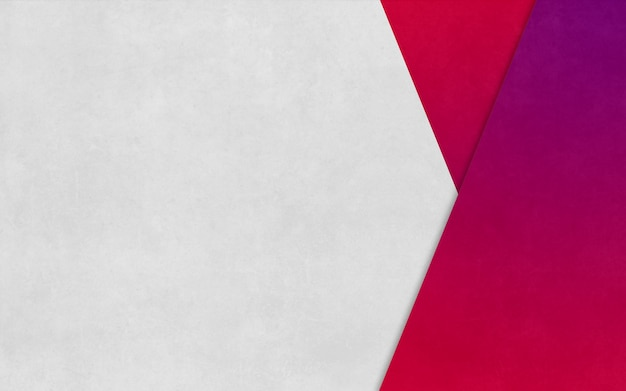 Bright pink triangle boxed paper texture background business banner