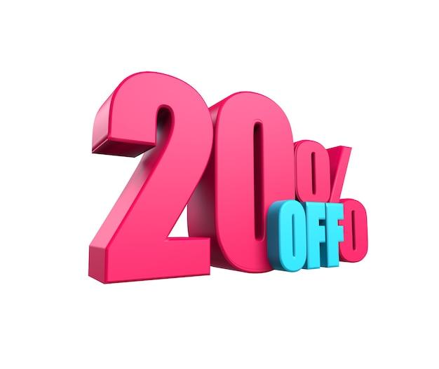 밝은 분홍색, 볼륨 있는 3d 비문: 50% 할인, 흰색 배경에 격리. 디자인 할인, 디자인, 판매, 웹 요소입니다. 3d 렌더링
