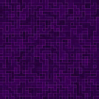 テクスチャ背景の明るい紫色の正方形のモザイク