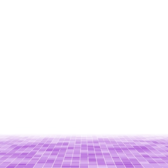 Яркая фиолетовая квадратная мозаика для текстурного фона.