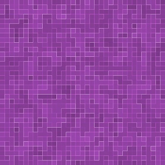 Bright purple square mosaic for textural background.