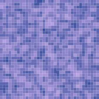 Bright purple square mosaic for textural