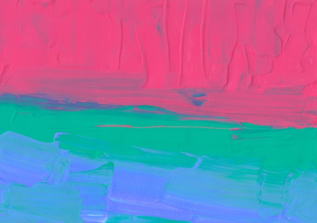 Ярко-красный зеленый синий фон