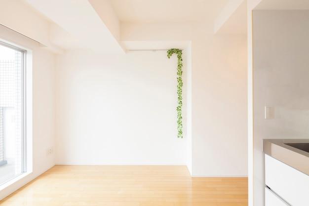 Bright room of apartment