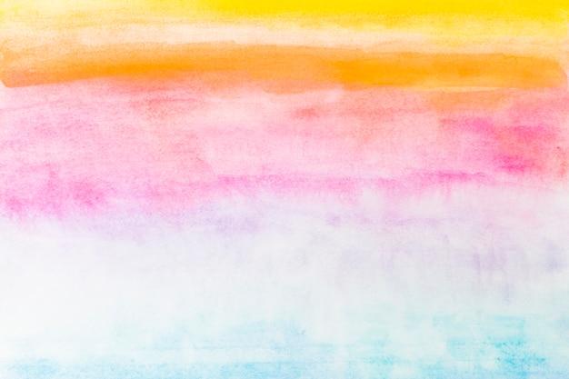 Bright watercolor gradient