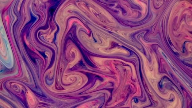 Яркий волнистый абстрактный фон жидкости