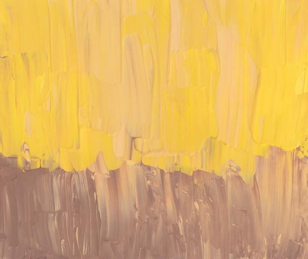 밝은 노란색과 갈색 추상적 인 배경