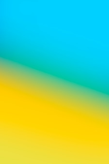 Bright yellow and blue in gradient