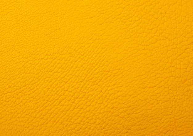Bright yellow leather as a leather texture