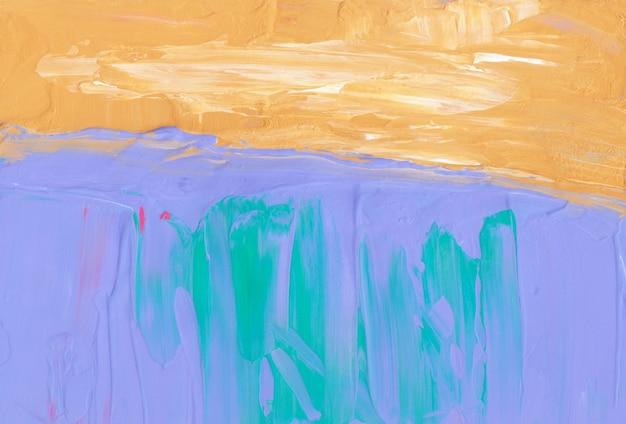 Ярко-желтый фиолетовый зеленый и белый фон