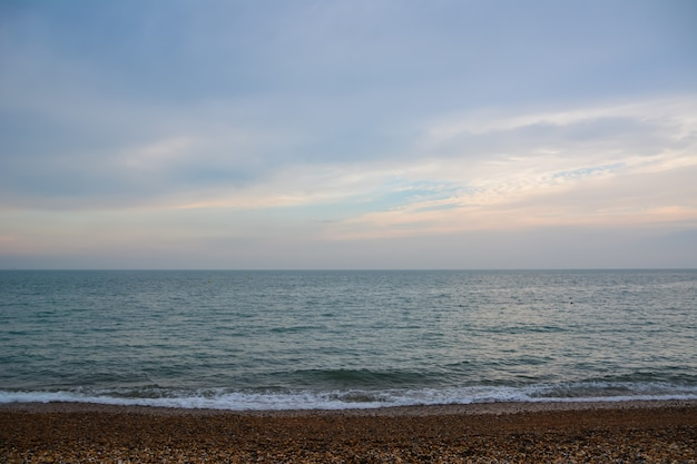 Brighton 해변, brighton and hove, east sussex, england, uk 2014년 7월 19일, brighton 해변 및 해변 활동.
