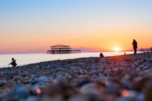 브라이튼 부두와 해변, 영국