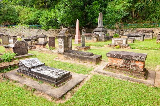 Британское гарнизонное кладбище, канди