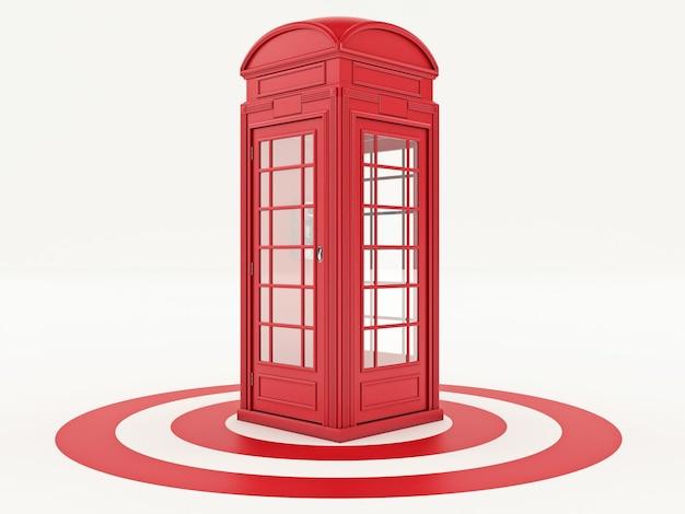 Британский телефон с целью
