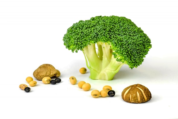 Broccoli and seeds