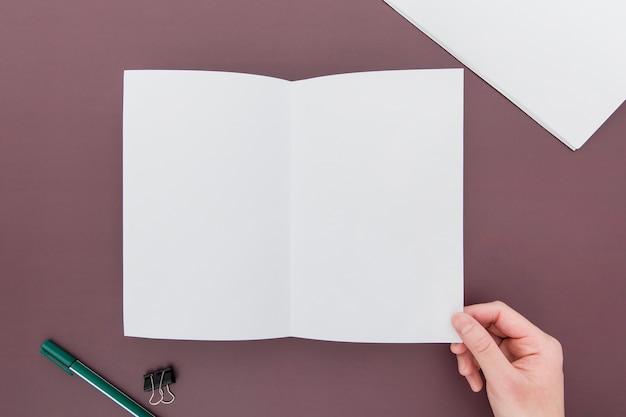 Brochure creation process