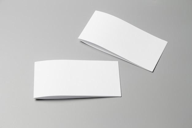 Brochure magazine isolated on gray