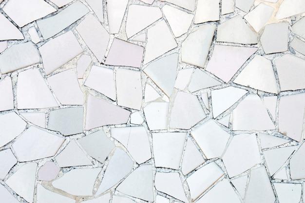 Broken azulejo tiles