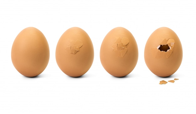 Broken egg step