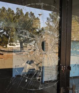 Broken glass  broken  shattered