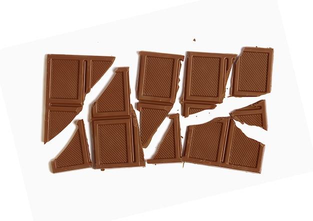 壊れたミルクチョコレート