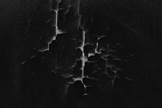 Broken old leather texture surface