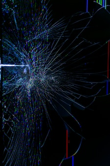 Broken tv lcd screen. abstract background