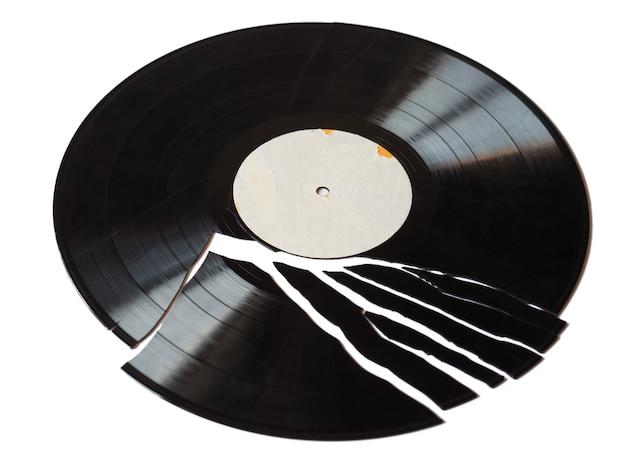 壊れたレコード