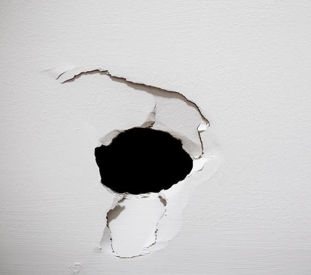 Сломанная белая стена текстура фон
