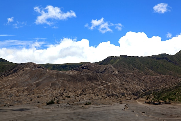 Bromo national park landscape
