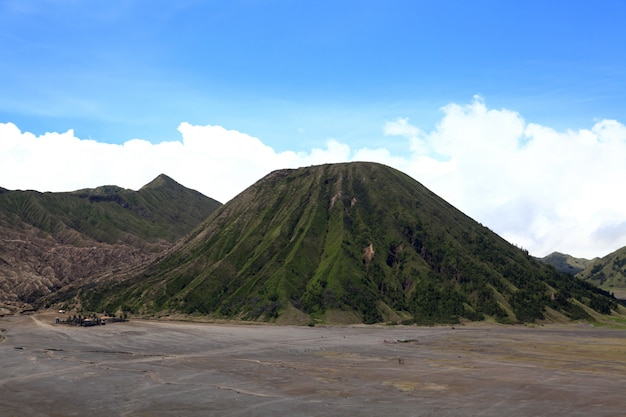 Bromo volcano national park indonesia