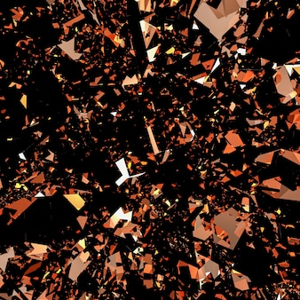 Bronze flake glitter background
