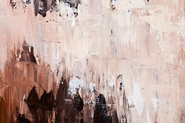 ブラウンとベージュの色合いの色の壁のテクスチャ