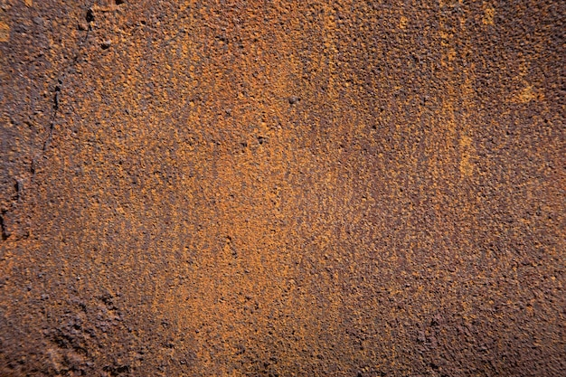Brown background from rusty plate