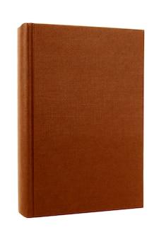 Frontale della copertina di libro marrone