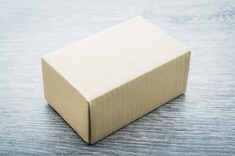 Brown box mock up