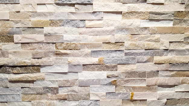 Brown brick colored wall texture