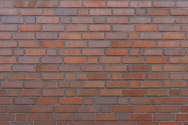 Brown bricks masonry wall as background or texture.