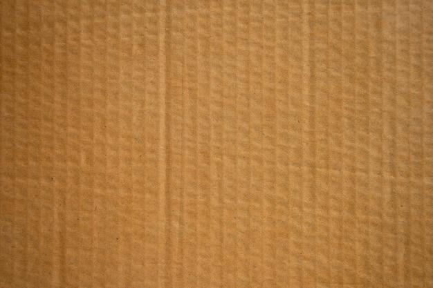 茶色の段ボール紙箱テクスチャ背景。