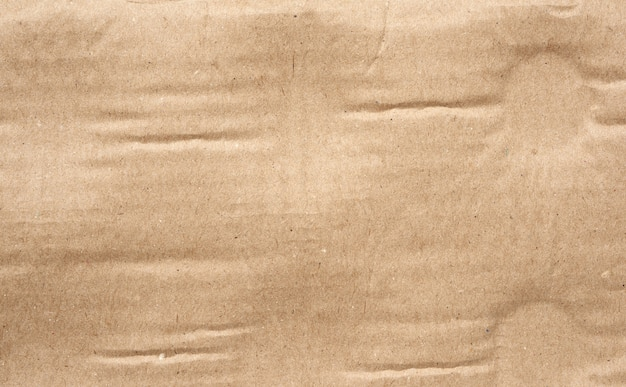 Деталь текстуры коричневого картона
