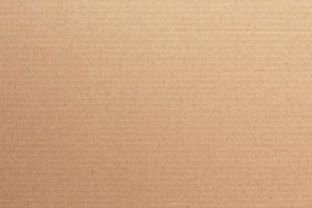茶色の段ボールシートの抽象的な背景