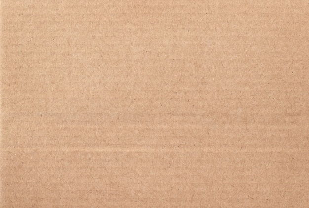 Brown cardboard sheet abstract background