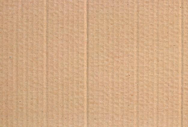 갈색 판지 시트, 재활용 종이 상자의 질감.