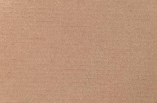 Brown cardboard sheet texture