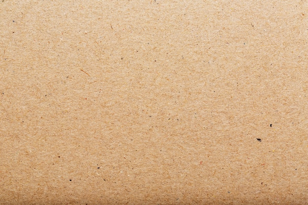 Brown cardboard texture of a blank page. as a background